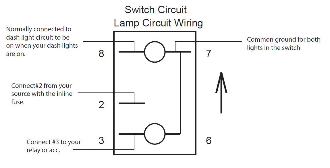 8 Pin On Off Rocker Switch Wiring Diagram from www.pradopoint.com.au