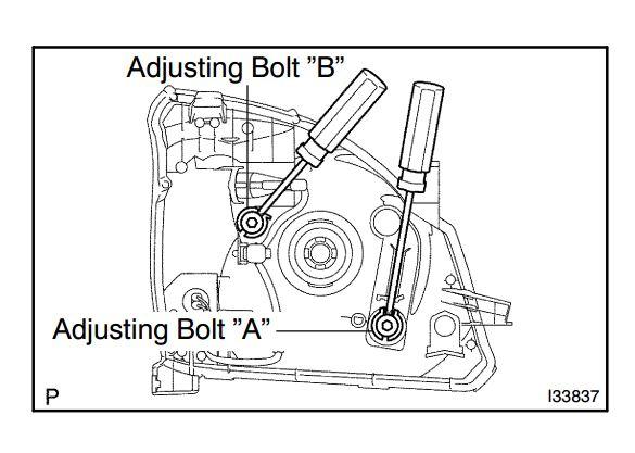 headlight adjustment - pradopoint