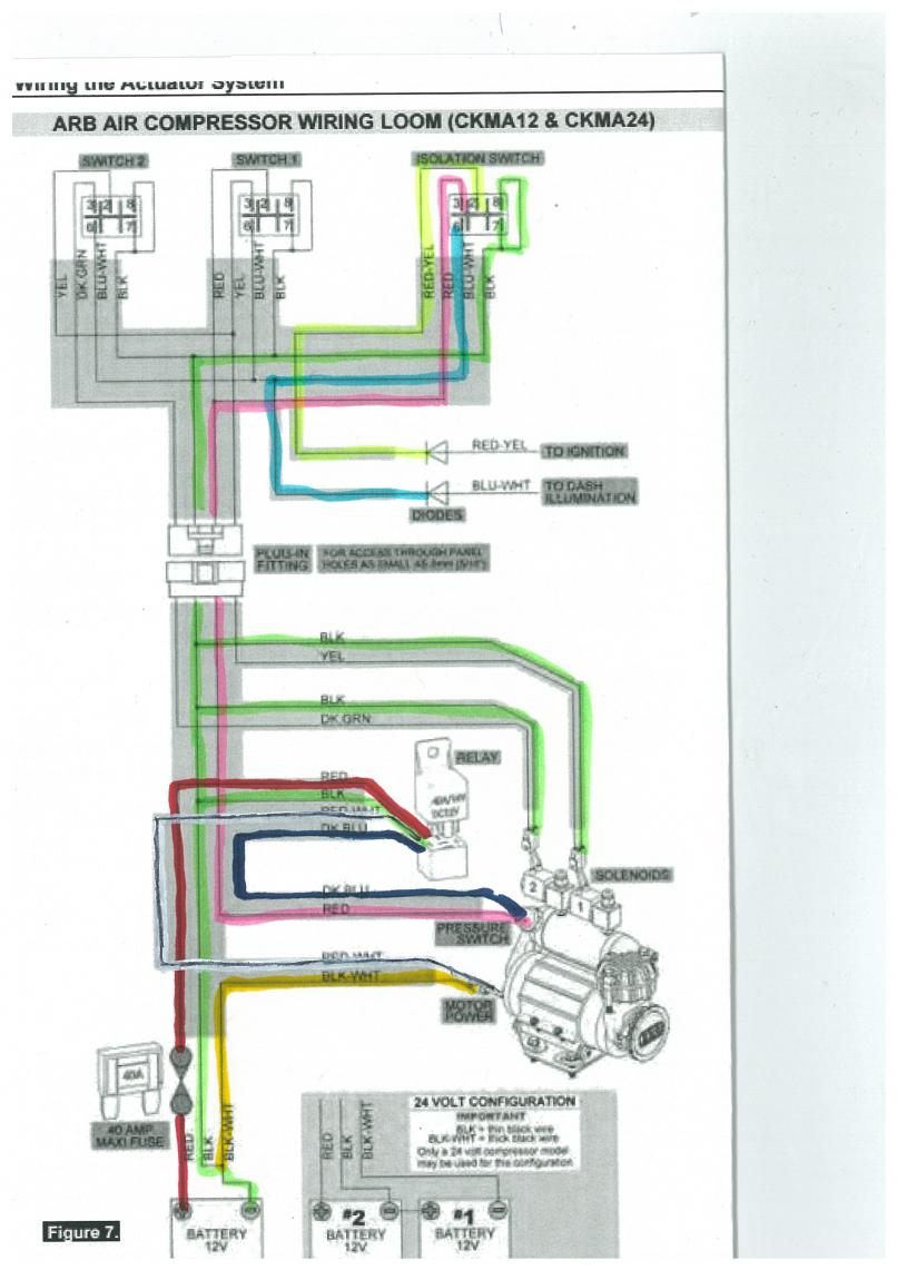 Arb Air Locker Compressor Switch Wiring Diagram