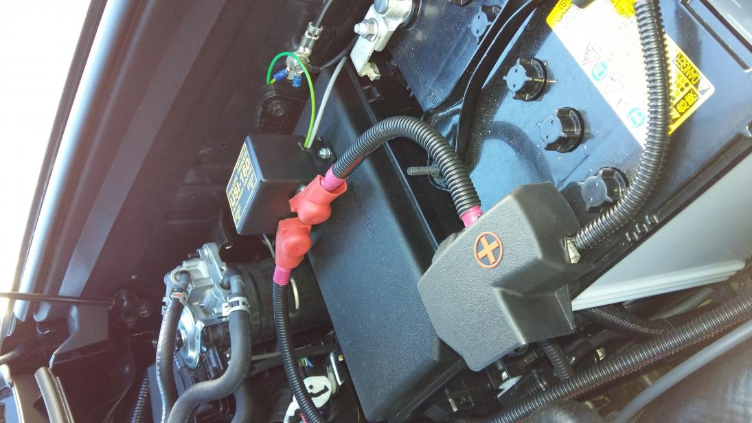 Running cables to back of car from 2nd battery - PradoPoint - Toyota ...