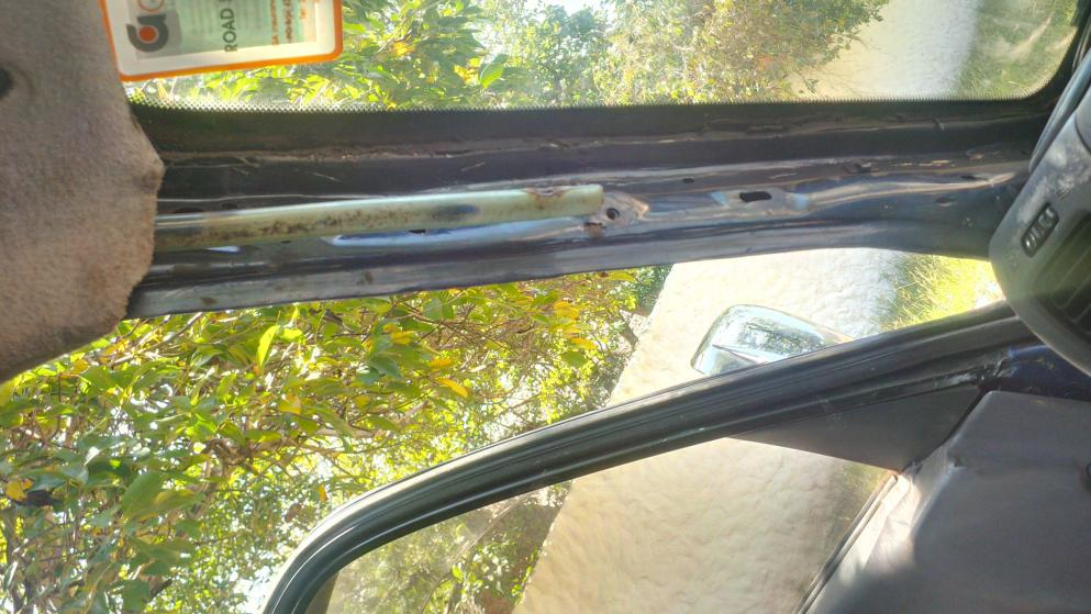Sunroof drain problem - PradoPoint - Toyota Prado 4x4 Landcruiser Forum