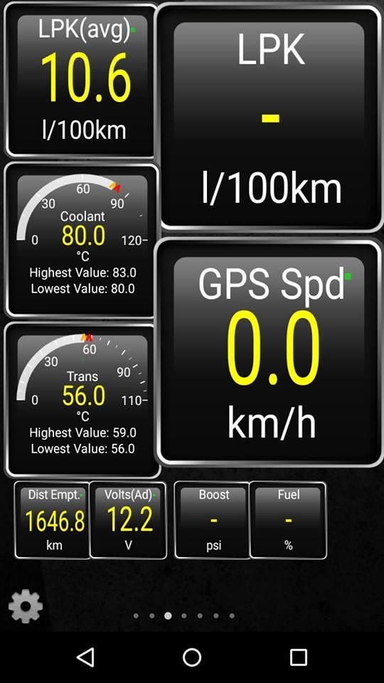 Installing OBD2 bluetooth scanner on M-OBD Prados